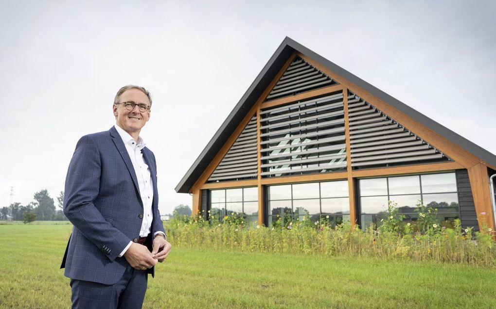 """Oprichter en huidig mede-eigenaar Steven van Westreenen zat eerder als ambtenaar """"aan de andere kant van de tafel.""""beeld Niek Stam"""