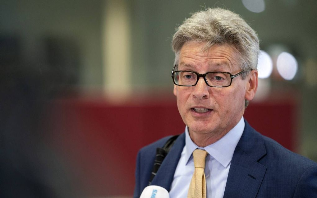 Lucas Bolsius, burgemeester Amersfoort.beeld ANP, Jeroen Jumelet