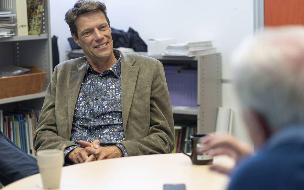 Bram Bregman (54) uit Houten, atmosfeer- en klimaatwetenschapper en als deeltijdhoogleraar klimaatverandering verbonden aan de Radboud Universiteit in Nijmegen en als klimaatvertegenwoordiger aan de Wageningen University en Research. Jarenlang werkzaam bi