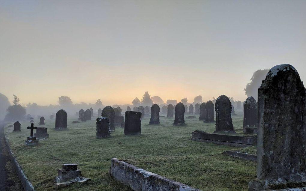 De dood leert ons onze nietigheid. Ze maakt ons ontvankelijk in de meest diepe zin van het woord. beeld iStock