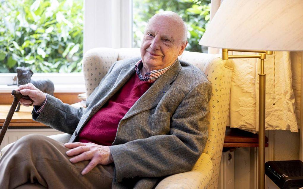Van de hartchirurgen van het eerste uur is alleen prof. Jan Homan van der Heide nog in leven. beeld Sjaak Verboom