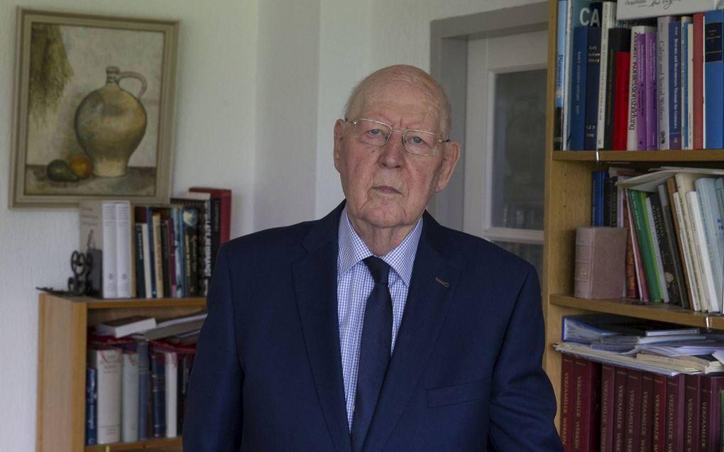 Prof. dr. W. Balke schreef opstellen over kerk en theologie.beeld RD, Anton Dommerholt
