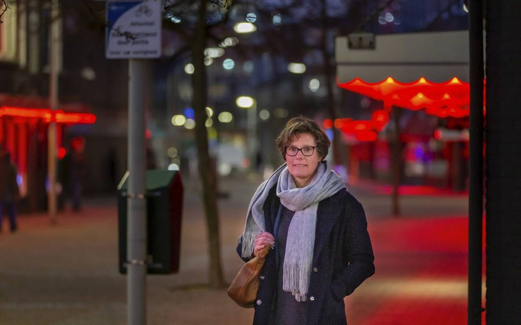 Marieke Dingemanse in Den Haag. beeld RD, Henk Visscher