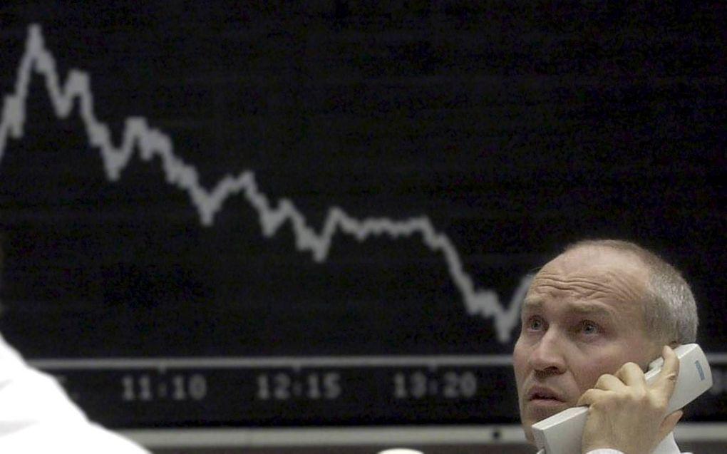 Gaat de koersval van 2008 zich herhalen?beeld EPA, Werner Baum