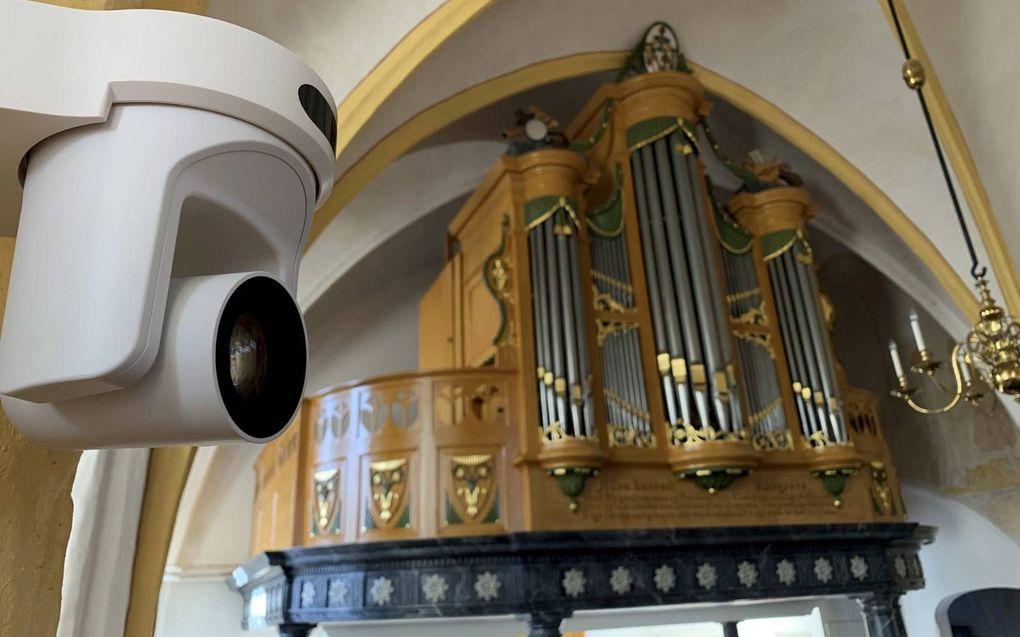 Kerk-tv. Beeld Schaapsound