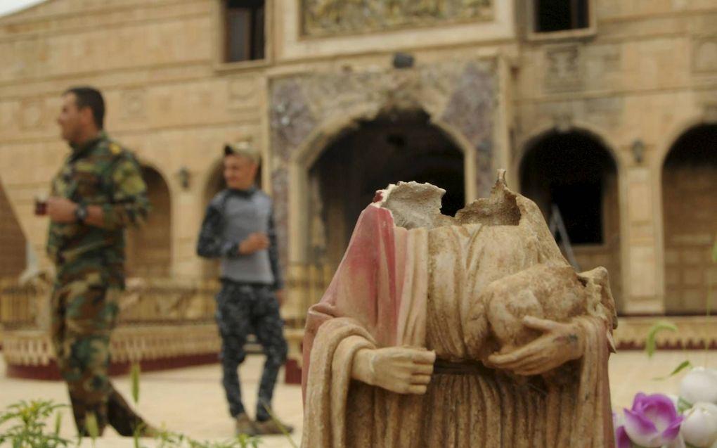Jacob Hoekman ging op zoek naar de ziel van het Midden-Oosten, onder meer in Irak.beeld Teun Voeten