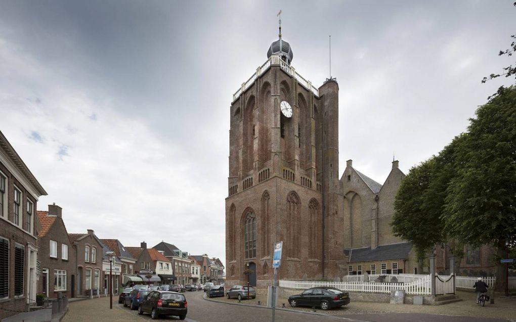 De Grote Kerk in Workum.beeld Sjaak Verboom