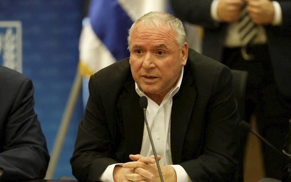De Israëlische minister Amsalem. beeld EPA, Abir Sultan