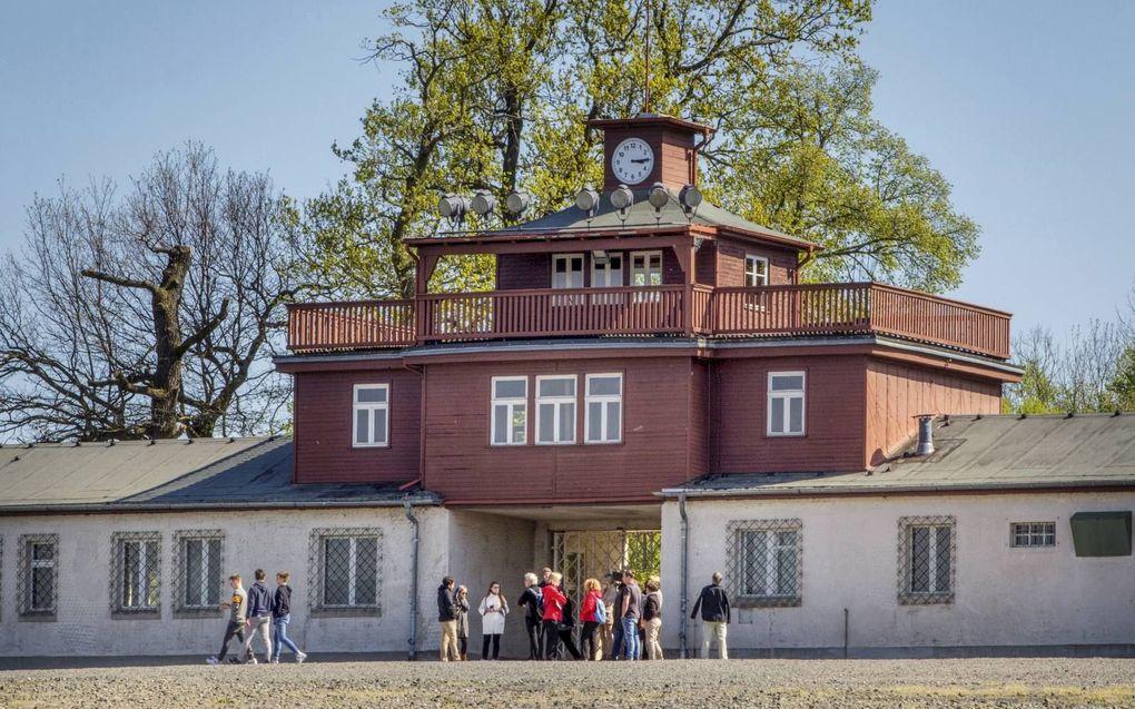 """""""Jodenvervolging de eeuwen door en antisemitisme als een voedingsbodem daarvoor behoren tot het bittere raadsel van de geschiedenis."""" Foto: concentratiekamp Buchenwald in het Duitse Weimar. beeld RD, Henk Visscher"""