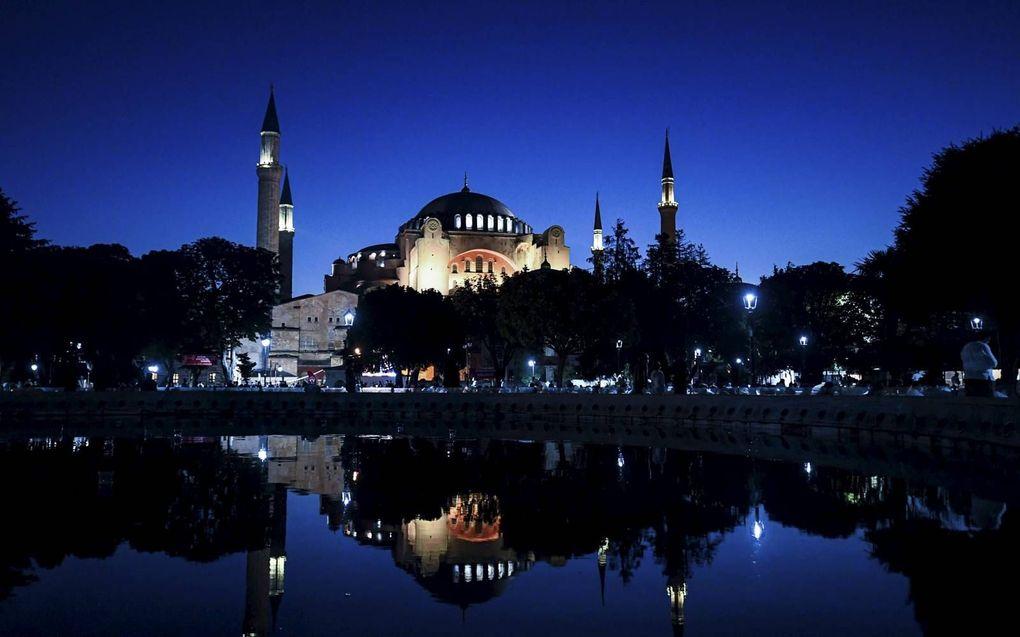 De Hagia Sophia in Istanbul.beeld AFP, Ozan Kose