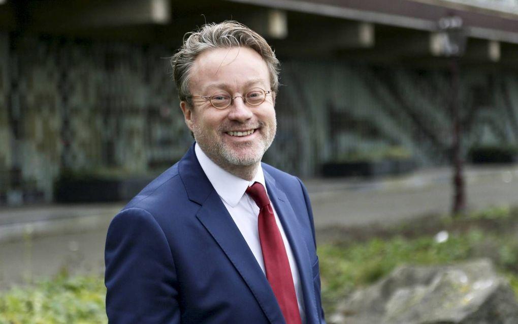 """DNB-directielid Olaf Sleijpen: """"Pensioenfondsen hebben tijd nodig om te beslissen welke koers ze willen varen.""""beeld De Nederlandsche Bank"""