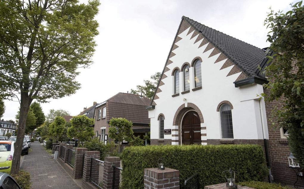 Het kerkgebouw van de oud gereformeerde gemeente in Nederland te Rhenen. beeld RD, Anton Dommerholt