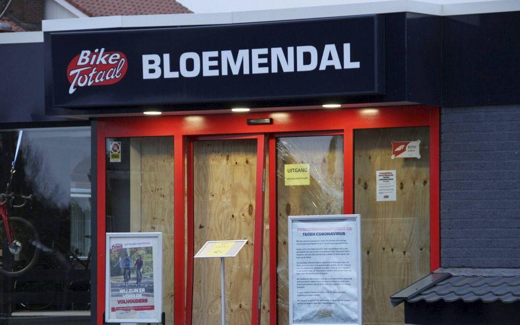 Bij een inbraak in een fietsenwinkel in Rijssen zijn twintig fietsen gestolen. beeld Jan Willem Klein Horstman