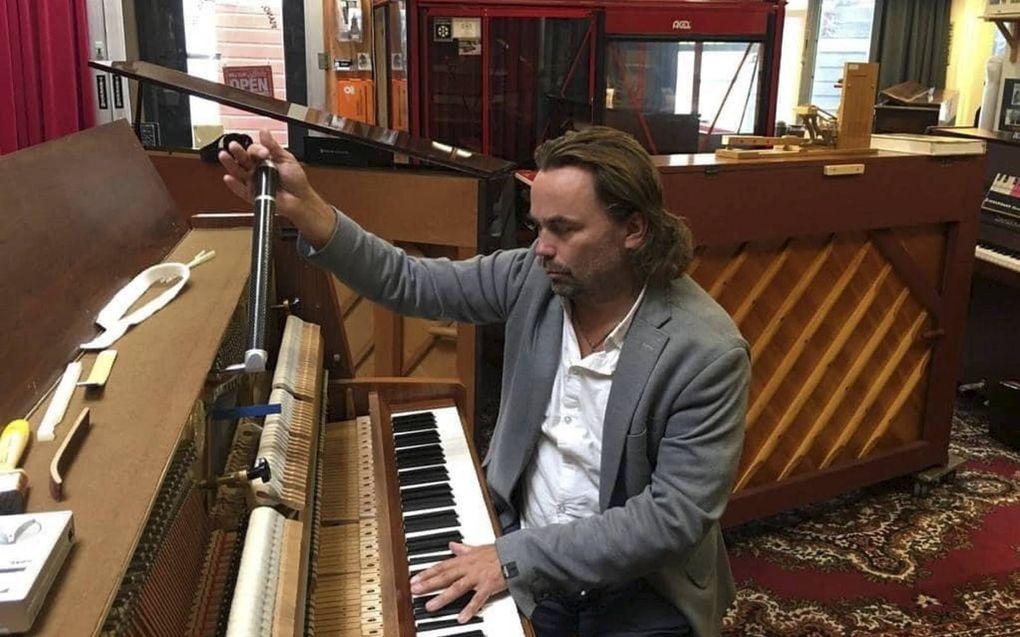 Dirigent en pianist Jacob Schenk. beeld RD