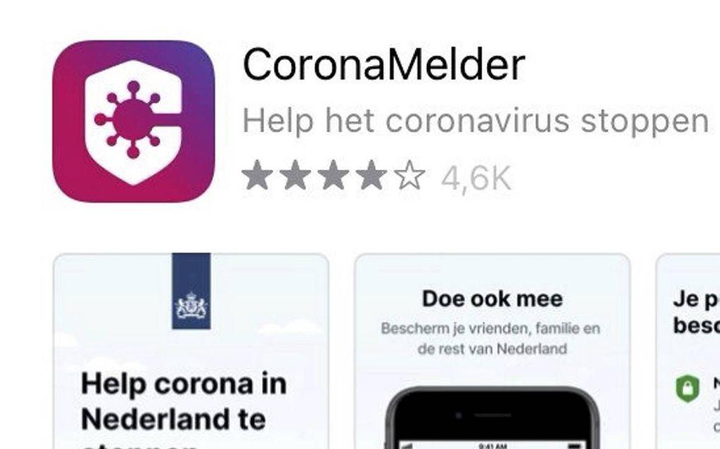 CoronaMelder-app signaleert contacten. beeld RD