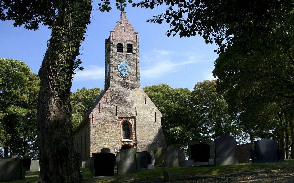 De Sint Nicolaaskerk in Hijum. beeld Wikimedia