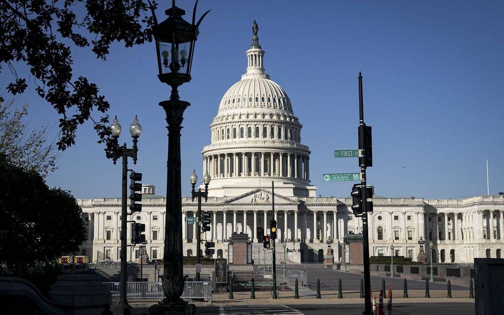 De uitslag van de verkiezingen voor de Amerikaanse Senaat kan nog weken op zich laten wachten.beeld AFP, Al Drago