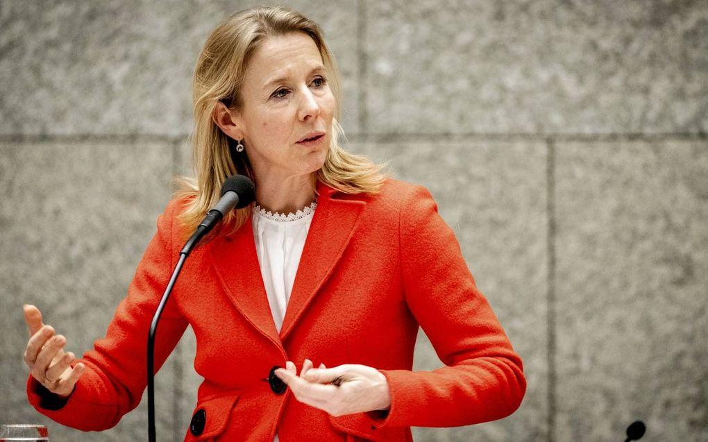 Staatssecretaris Stientje van Veldhoven (Infrastructuur en Waterstaat). beeld ANP, Sem van der Wal