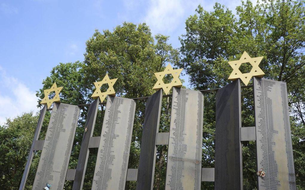 """""""De interkerkelijke schuldverklaring waarin kerken zonde van nalatigheid belijden tegenover God en het Joodse volk in de periode voor, tijdens en na de oorlog verschijnt op een moment dat het antisemitisme weer opkomt."""" Foto: Nationaal Monument Kamp Vught"""