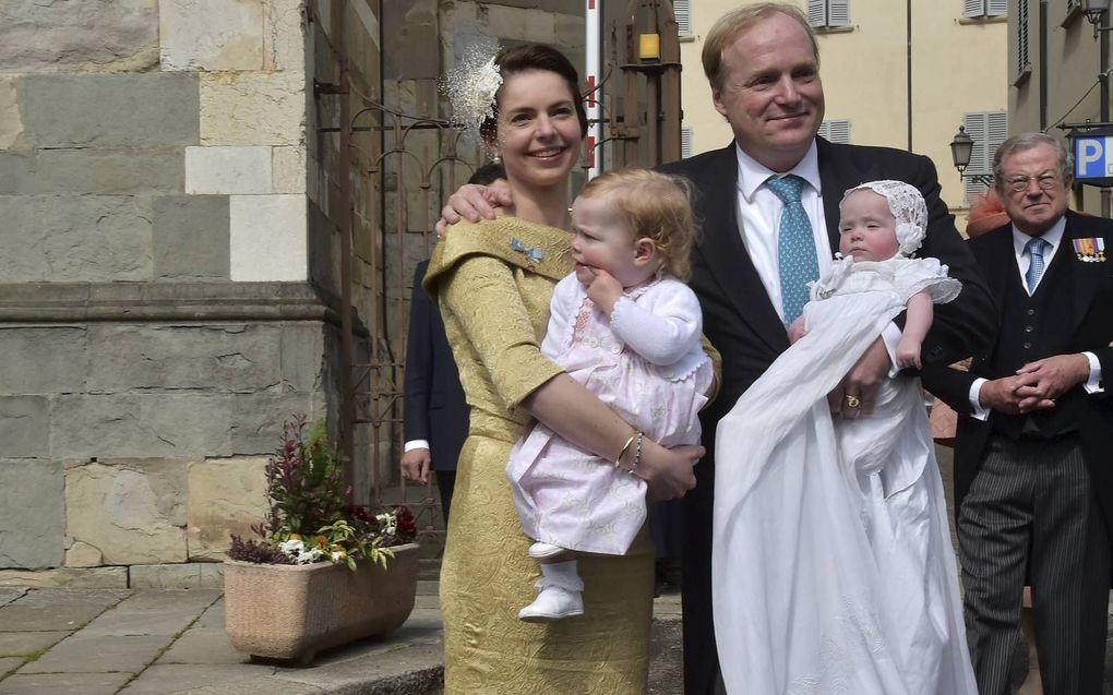 In 2014 werd prinses Cecilia gedoopt in de kathedraal van Piacenza.beeld AFP, Giuseppe Cacace