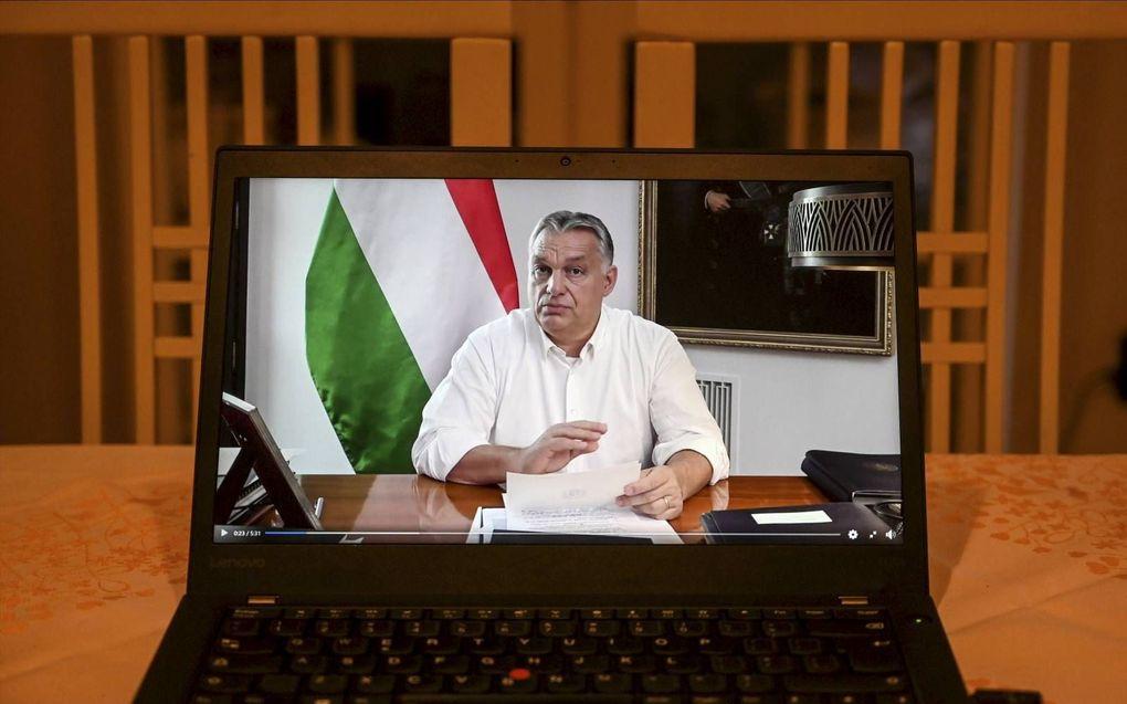 Premier Orban. beeld Attila Kisbenedek