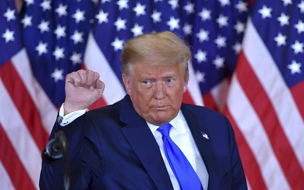 Donald Trump.beeld AFP, Mandel Ngan