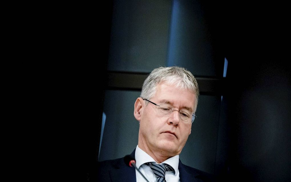 Minister Slob. beeld ANP, Bart Maat