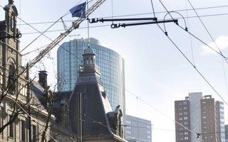 Oud en nieuw door elkaar in het centrum van Rotterdam. beeld RD, Anton Dommerholt