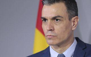 De Spaanse premier Pedro Sanchez, maandag.beeld AFP, Jean-Marc Haedrich