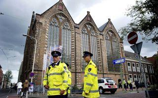 Na een corona-uitbraak moet een burgemeester ook een kerk kunnen sluiten, vindt het kabinet. beeld ANP, Robin Utrecht