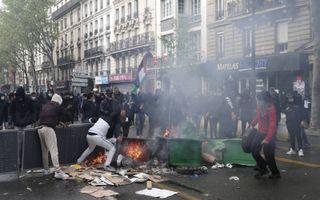 Pro-Palestijnse betoging in Parijs.beeld AFP, Geoffrey van der Hasselt