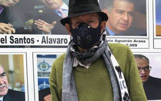 Don Raul in Bogota.beeld Ynske Boersma