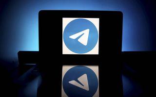Telegram app. beeld ANP, Ian Langsdon