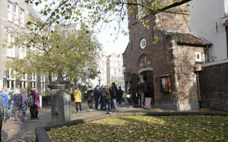 Engelse kerk te Amsterdam. beeld RD