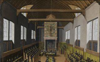 Synode van Dordrecht. beeld Dordrechts Museum