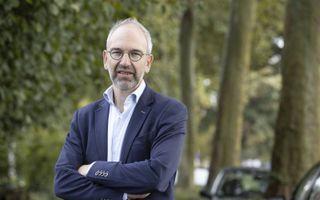 """Prof. dr. Pieter Vos aanvaardde dinsdag zijn ambt als bijzonder hoogleraar """"Protestantse geestelijke verzorging in de krijgsmacht"""".beeld RD, Anton Dommerholt"""