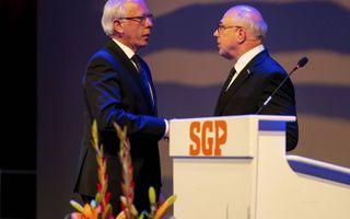 Maarten van Leeuwen en Peter Zevenbergen (rechts). beeld Cees van der Wal