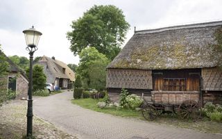 Een deel van Gees heeft de status van beschermd dorpsgezicht.beeld Niek Stam
