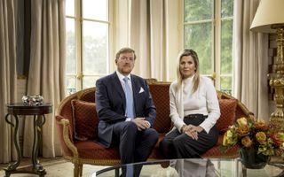 De koning en koningin betuigen spijt over hun vakantie naar Griekenland. beeld ANP/ Koen van Weel