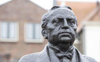 """Kuyper was een """"complexe, veelzijdige man"""", vindt VU-rector prof. dr. Vinod Subramaniam. beeld RD, Anton Dommerholt"""