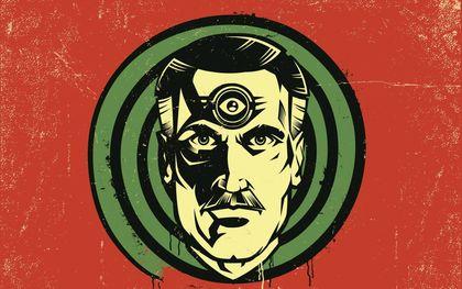 """De griezelige vooruitzichten die Orwell schetst in zijn boek """"1984"""" worden langzaamaan werkelijkheid. beeld iStock"""