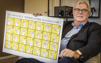 Johan Wesemann maakte zich onder meer hard voor de acceptatie van gebarentaal in het dovenonderwijs. Die kwam pas in 1980. beeld RD, Henk Visscher