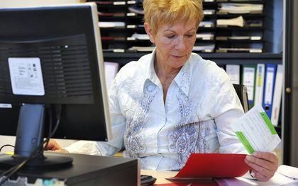 Meer 55-plussers hebben een baan.beeld ANP, Lex van Lieshout