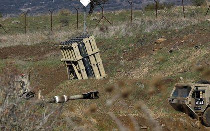 Het Iron Dome-systeem in Israël.beeld AFP, Jalaa Marey