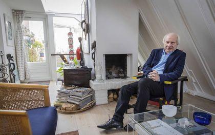 """Jan Brokken: """"Als ik vroeger zei dat ik geen griesmeel lustte, riepen twee mijn boers in koor: """"Nooit honger gehad.""""""""beeld RD, Henk Visscher"""