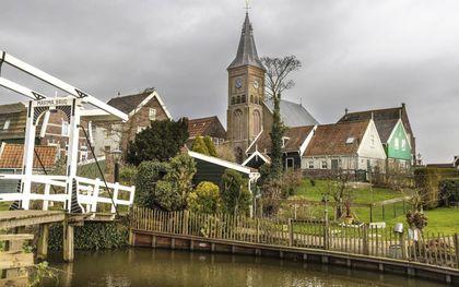 De Grote Kerk in Marken. beeld RD, Henk Visscher