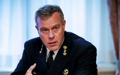Rob Bauer, de hoogste baas van de Nederlandse krijgsmacht. beeld ANP