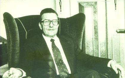 Zowel in zijn prediking als zijn doen en laten was Boot volstrekt authentiek. foto familie Boot