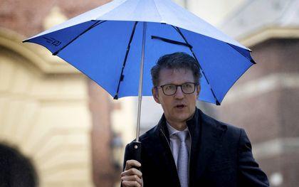Volgens Sander Dekker, Minister van Rechtsbescherming, dient een volgend kabinet te oordelen over de budgetten voor de Autoriteit Persoonsgegevens. beeld ANP, Koen van Weel