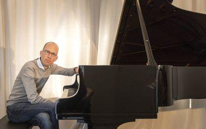 Pianist Jaap Eilander. beeld RD, Henk Visscher